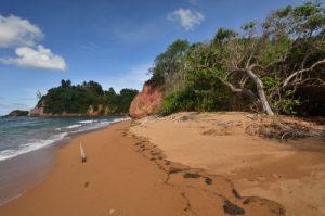 Plage de Pointe Rouge<br> Presqu'île de la Caravelle<br> Île de la Martinique