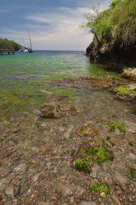 La plage d'Anse Noir aux Anses-d'Arlet Île de la Martinique