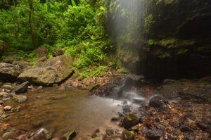 Cascade de la rivière Couleuvre<br> Île de la Martinique