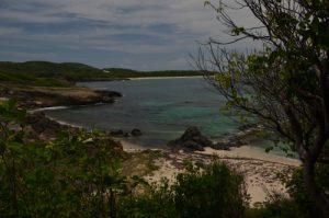 Trou Cadia près de Cap Ferré Trace des Caps Île de la Martinique