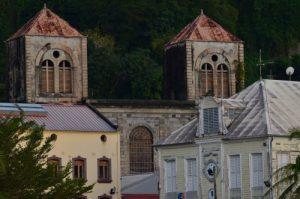 Le village de Saint-Pierre<br> Parc Naturel Régional de La Martinique