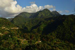 Point de vue du Morne des Cadets<br> Parc Naturel Régional de La Martinique