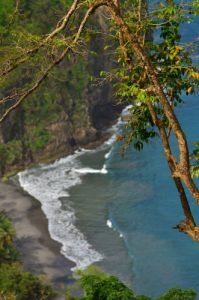 Anse à Voile depuis le Chemin Prêcheur - Grand'Rivière<br> Parc Naturel Régional de La Martinique