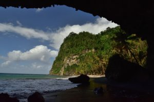Le paradisiaque Anse des Galets<br> Chemin Prêcheur - Grand'Rivière<br> Parc Naturel Régional de La Martinique