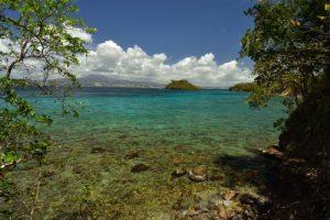 Le Site Naturel Protégé d'Anse Mathurin - Anse Bellay<br> Parc Naturel Régional de La Martinique