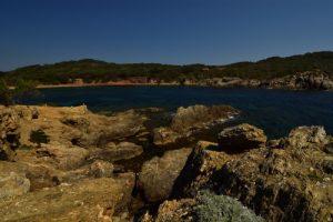 Île de Porquerolles<br> Pointe du Grand Langoustier<br> Le Massif des Maures
