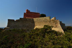 Île de Porquerolles<br> Fort du Grand Langoustier<br> Le Massif des Maures