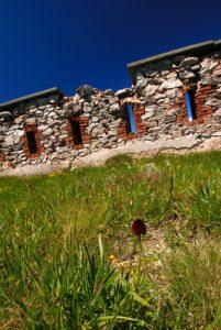 Col de Tende : de fort central à fort Pernante Parc National du Mercantour / Région de la vallée des Merveilles / Vallée de la Roya