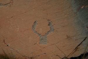 La vallée des Merveilles : gravures rupestres Parc National du Mercantour / Région de la vallée des Merveilles / Vallée de la Roya