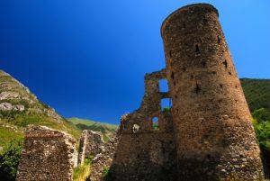 Village médiéval de la Brigue La Brigue / Région de la vallée des Merveilles / Vallée de la Roya Parc National du Mercantour