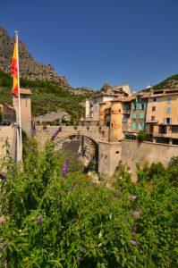 La Citadelle d'Entrevaux -  Parc national du Mercantour