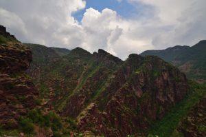 Les Gorges rouges de Daluis -  Parc national du Mercantour