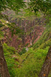 Cascade de la clue d'Amen -  Les Gorges rouges de Daluis -  Parc national du Mercantour