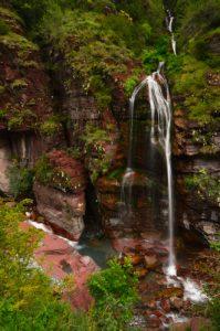 Les Gorges supérieures de Pélites rouges du Cians - Parc national du Mercantour