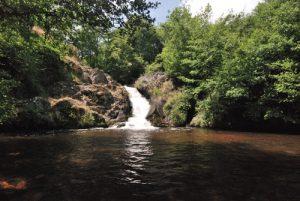 Le saut du Gouloux<br> Parc Naturel Régional du Morvan