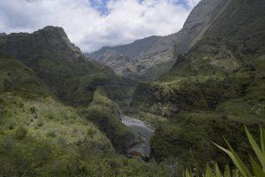 Village d'Aurère<br> Cirque de Mafate Nord<br> Île de la Réunion