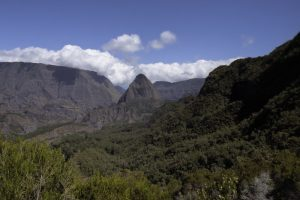 La Crête d'Aurère dans le Cirque de Mafate Nord<br> Île de la Réunion