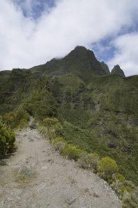 Les 2 fesses<br> Cirque de Mafate Nord<br> Île de la Réunion