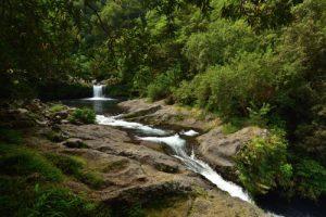 Cascade de la rivière Langevin près de la cascade du Grand Gallet<br> Île de la Réunion