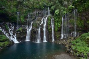 La Cascade du Grand Gallet<br> Île de la Réunion
