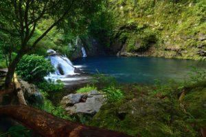 La Cascade du Trou Noir<br> Île de la Réunion