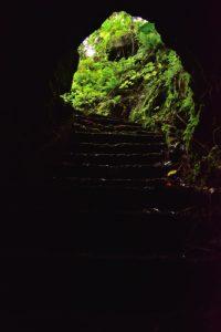 Puits arabe.<br> La Pointe de la Table<br> Parc National de la Réunion