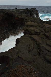 L'arche de lave au dessus de l'océan.<br> La Pointe de la Table<br> Parc National de la Réunion