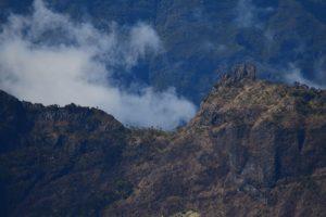Les 3 Salazes depuis le point de vue du Maïdo<br> Parc National de la Réunion