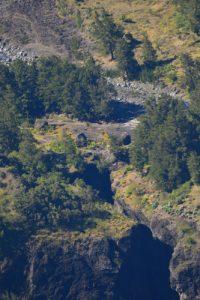 Le site des 3 Roches depuis le point de vue du Maïdo<br> Parc National de la Réunion