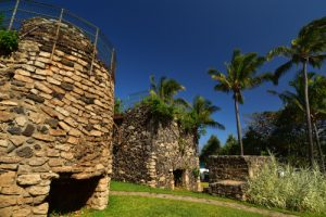 Ancien four à chaux<br> Plage de Grand-Anse<br> Île de la Réunion