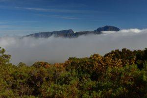 Le massif du Piton des Neiges.<br> Parc National de la Réunion