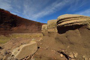 Cratère de scories et cendres.<br> La Plaine des Sables<br> Parc National de la Réunion