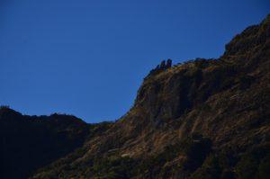 Les 3 Salazes depuis la vallée de la rivière des Galets.<br> Le Cirque de Mafate<br> Parc National de la Réunion