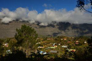 L'îlet La Nouvelle.<br> Le Cirque de Mafate<br> Parc National de la Réunion