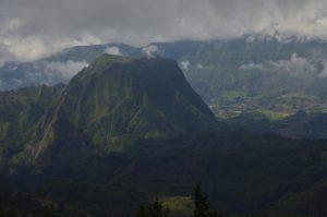 Le Piton d'Anchaing<br> Le Cirque de Salazie<br> Île de la Réunion