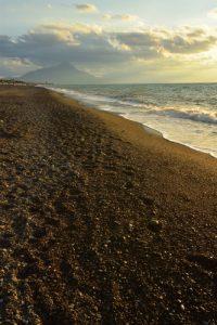 Plage de Lascari<br> Île de La Sicile