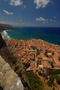Village de Cefalù<br> Île de La Sicile