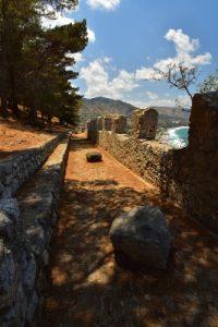 Rocher &amp; Fort de Cefalù<br> Île de La Sicile
