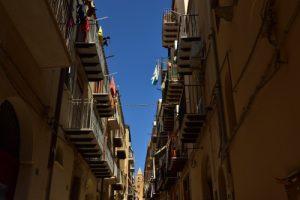 Le village de Cefalù<br> Île de La Sicile