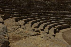 Théâtre du milieu du IIIe siècle av. J.-C<br> Site archéologique de Ségesta<br> Île de La Sicile