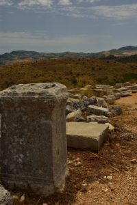 Site archéologique de Ségesta<br> Île de La Sicile