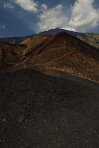Cratère du Monte Monte Nero<br> Parco Dell'Etna<br> Île de La Sicile