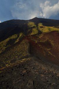 Cratère du Monte Corvo<br> Parco Dell'Etna<br> Île de La Sicile