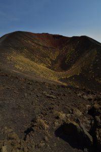 Cratère du Monte Silvestri supérieur<br> Parco Dell'Etna<br> Île de La Sicile