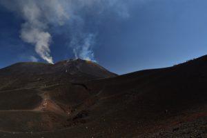 Les cratères sommitaux de l'Etna<br> Parco Dell'Etna<br> Île de La Sicile