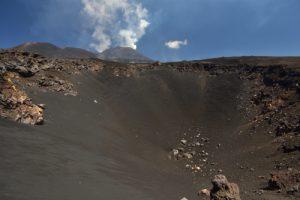 Cratère du Cistermazza<br> Parco Dell'Etna<br> Île de La Sicile