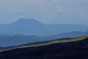 Le cratère La Montagnola<br> Parco Dell'Etna<br> Île de La Sicile