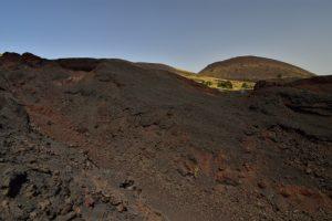 Les coulées de lave et les cônes de l'éruption de 2012 à Piano Provenza <br> Parco Dell'Etna<br> Île de La Sicile