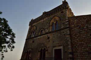 Le village de Taormina<br> Île de La Sicile