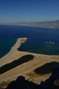 Les lagunes de Riserva Laghetti Di Marinello<br> Île de La Sicile